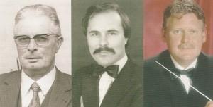 Ton Kotter, Ard Weenink en Hans Schippers
